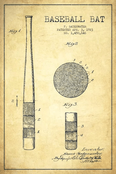 Baseball Bat Blueprints
