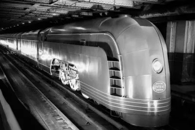 1930s Angled View Of New York Central Railroa Vintage