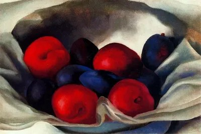 Plums Canvas Print by Georgia OKeeffe  iCanvas