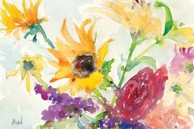 bright wild flowers i
