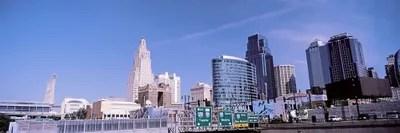 Kansas City Skyline Canvas