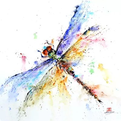 Dragonfly Canvas Art Print by Dean Crouser  iCanvas