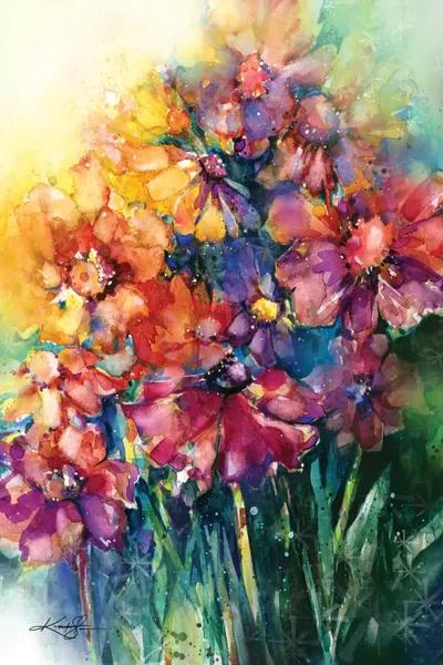 floral botanical canvas prints