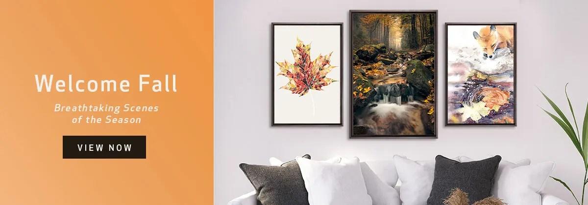 canvas art prints wall