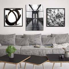 Canvas Prints For Living Room Yellow And Grey Walls Shop By Icanvas Minimalist Black White Art