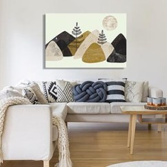 Paintings For Living Room White Corner Sofa Shop By Canvas Prints Icanvas Coastal Scandinavian Art