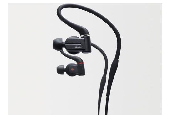 Specs Sony XBA-Z5 Headset In-ear Black Headphones & Headsets (XBAZ5)