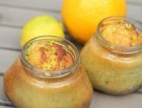 Zitrus-Pistazien-Kuchen im Glas - Rezept - ichkoche.at