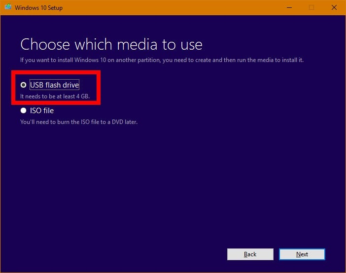 How to install Windows 10 on a USB drive with Microsoft's Media Creation Tool | PCWorld