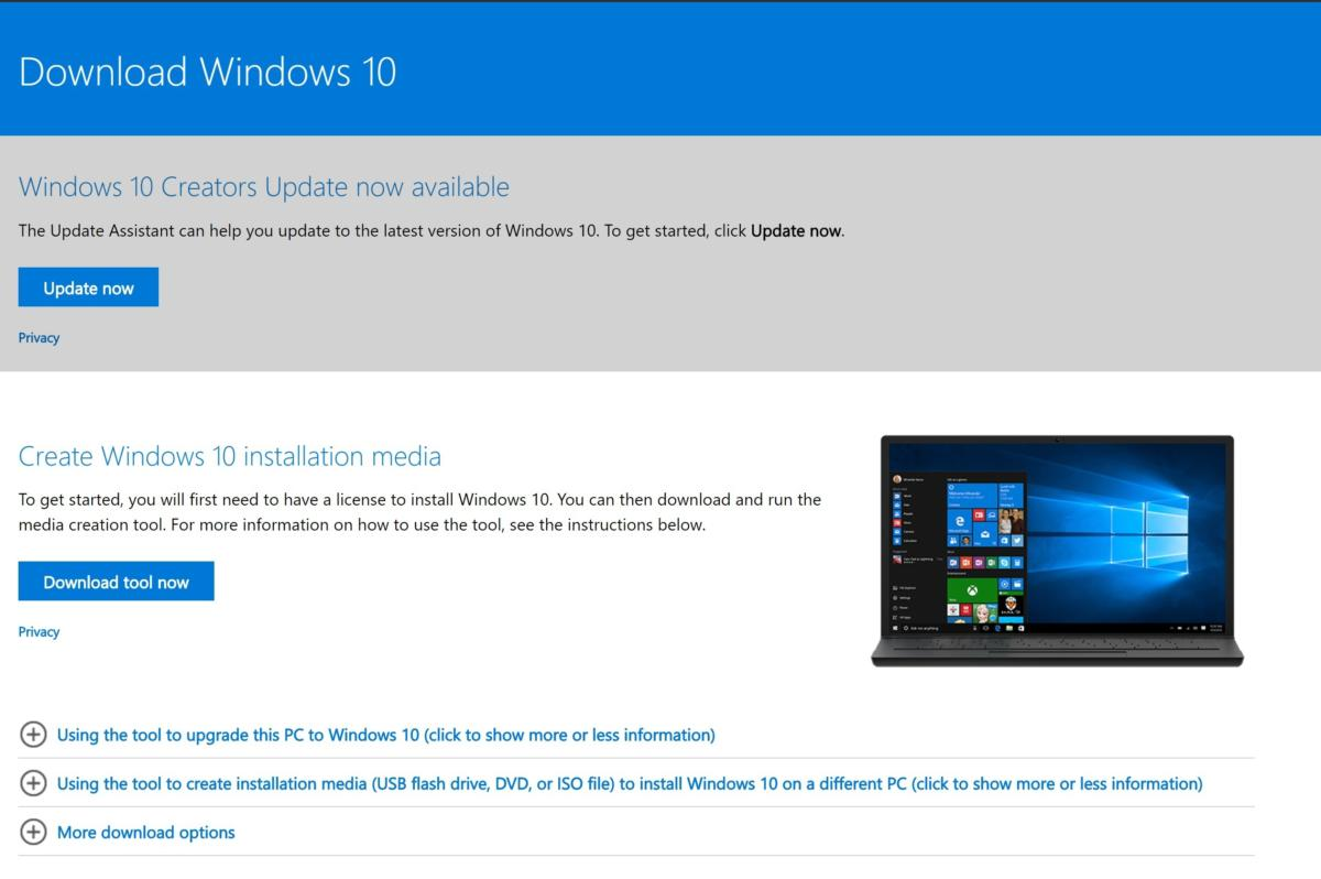 download windows 10 microsoft website