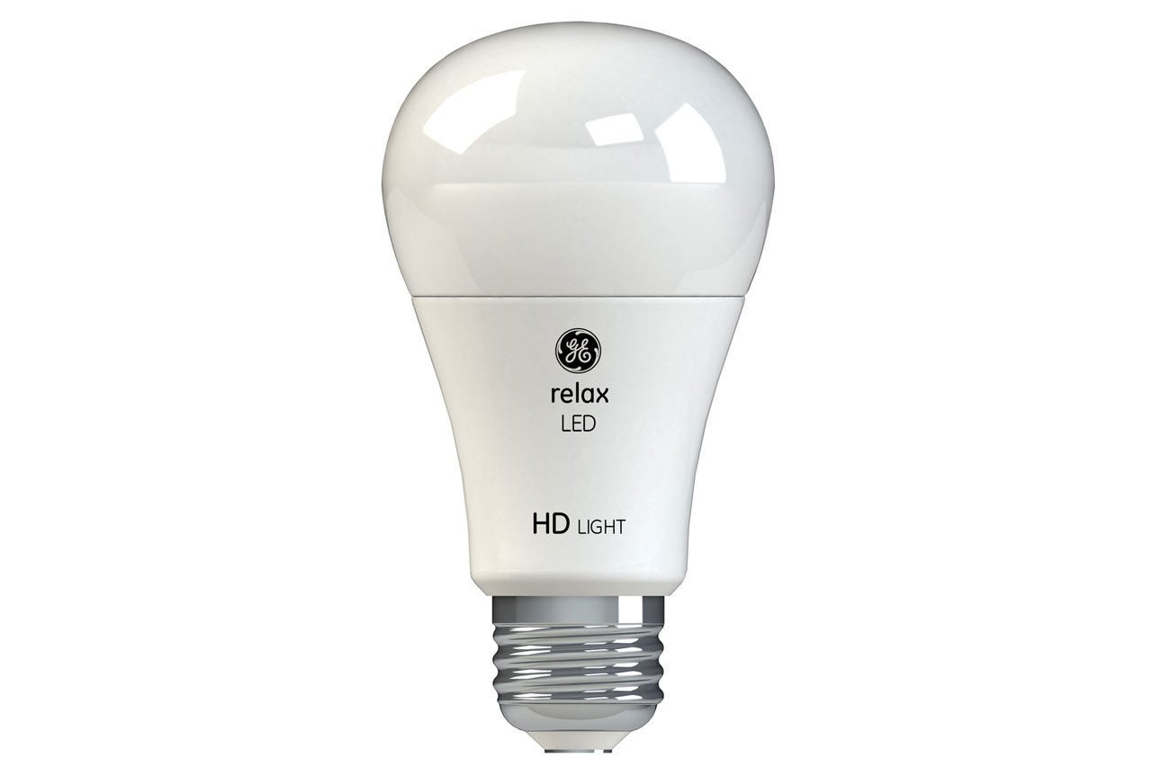 GE Relax Refresh and Reveal LED light bulb reviews Two