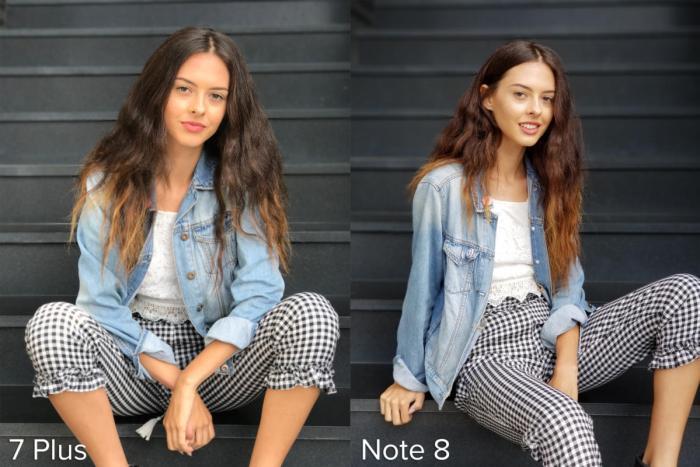 Apple iPhone 7 Plus Portrait Mode vs Samsung Galaxy Note 8 Live Focus example 5