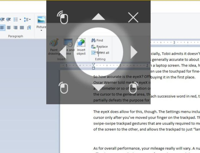 eye control mouse Microsoft Windows 10 Fall Creators Update