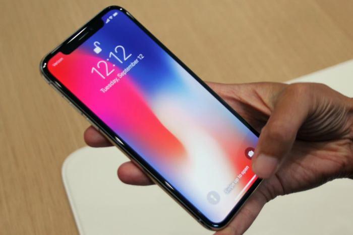 iphone x screen