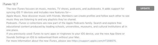 itunes 127 features