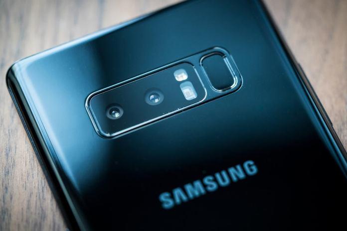 Samsung Galaxy Note 8 cameras