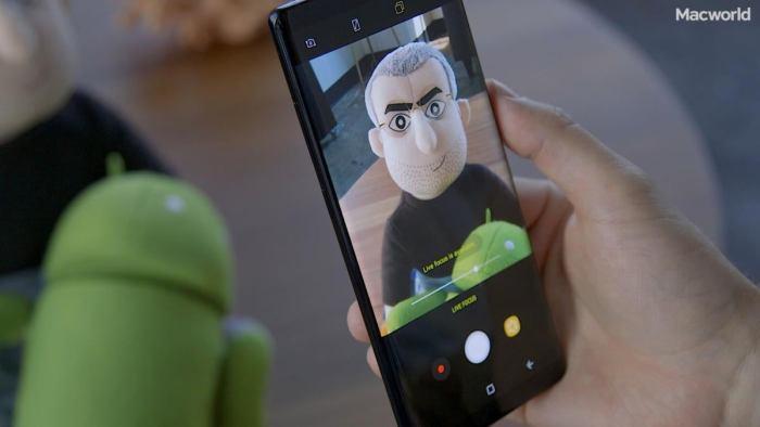 Samsung Note 8 Live Focus interface
