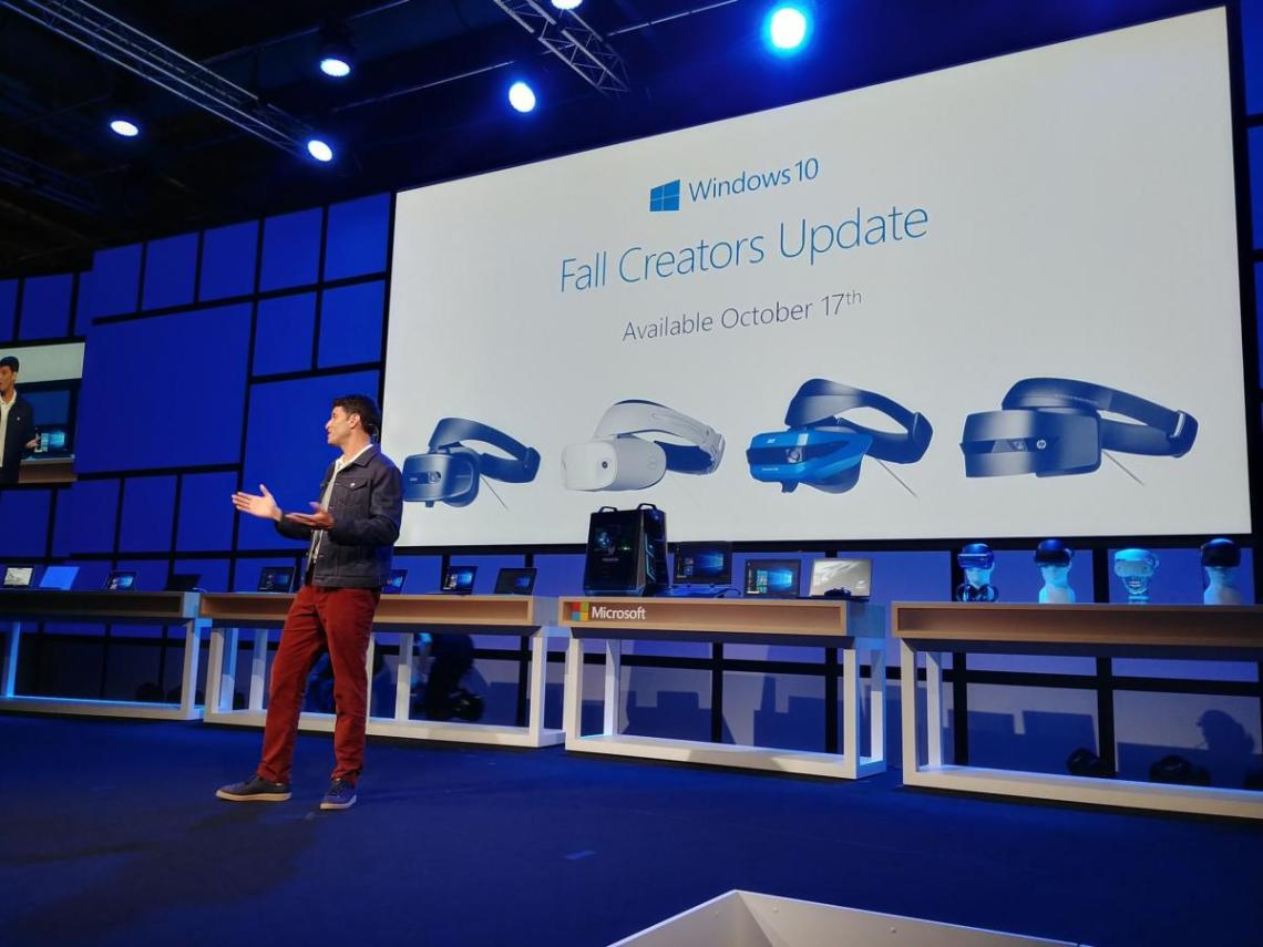 terry myerson windows 10 mixed reality