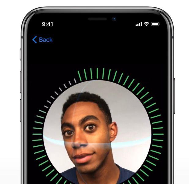 iphonex faceid setup apple