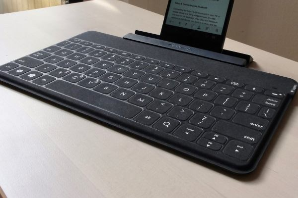 ee54cad1720 Logitech Keys- Super-slim Keyboard 'll Click With Mobile Typists Pcworld