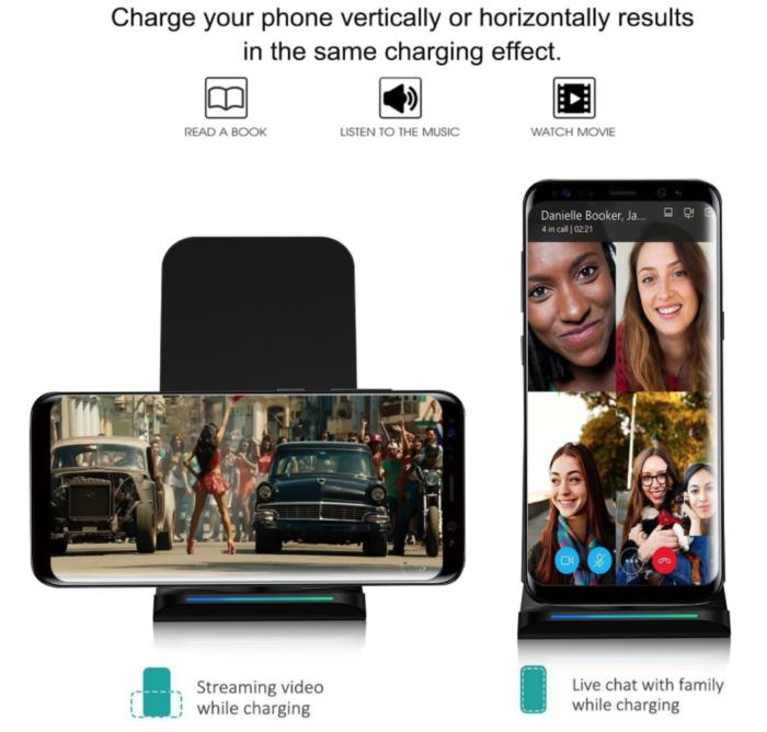 slide3 pleson fast wireless charger