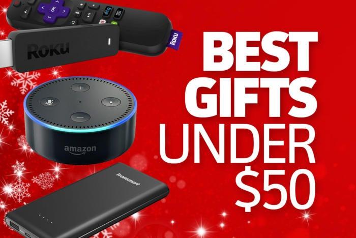 best tech gifts under