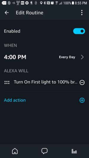 Amazon Echo Plus routines