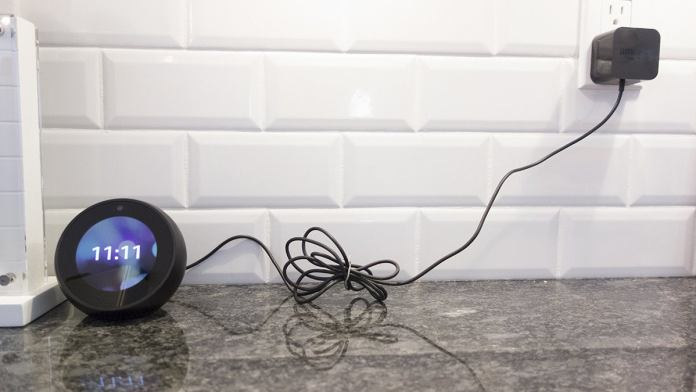 amazon echo spot cord