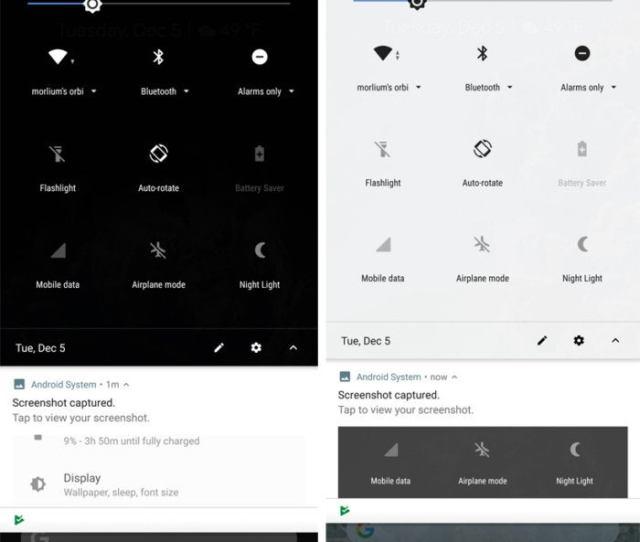 Android 8 1 Dark