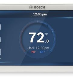 bosch connected control bcc100 wi fi thermostat review pretty to look at easy to program techhive [ 1280 x 853 Pixel ]