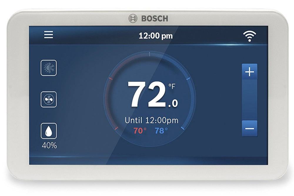 medium resolution of bosch connected control bcc100 wi fi thermostat review pretty to look at easy to program techhive