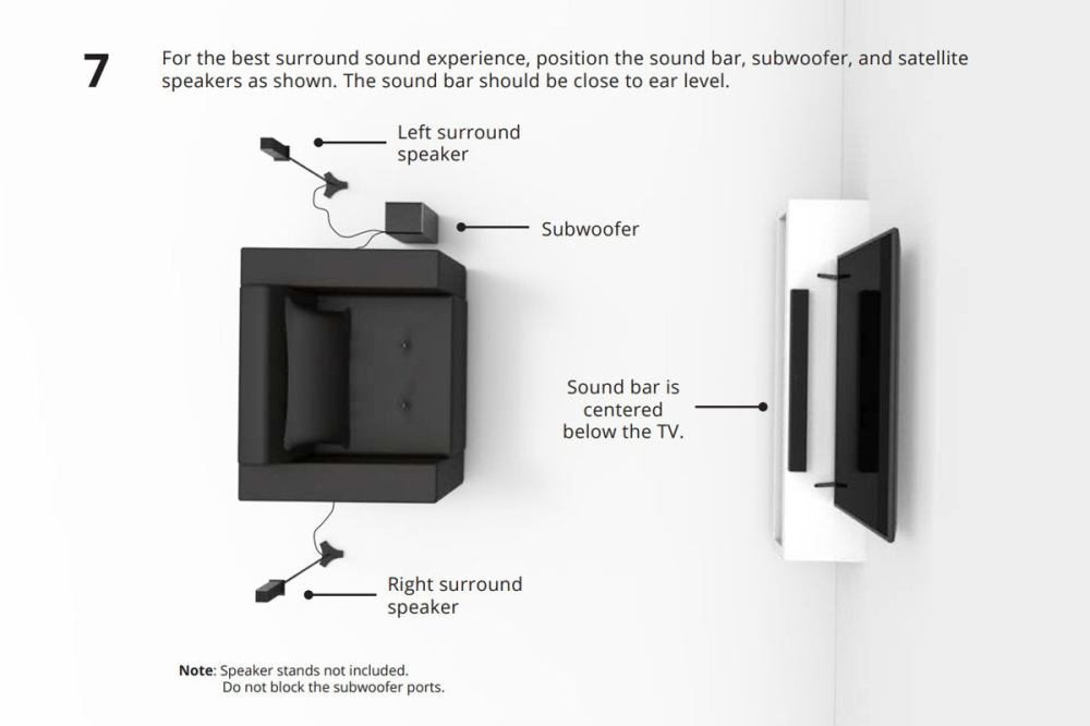 medium resolution of sb3651 e6 installation manual vizio