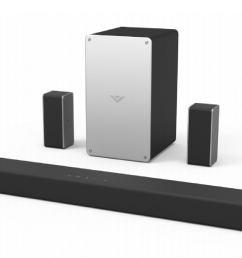 vizio smartcast sound bar model sb3651 e6 review the high tech feature set comes with a few sonic tradeoffs [ 2792 x 1502 Pixel ]