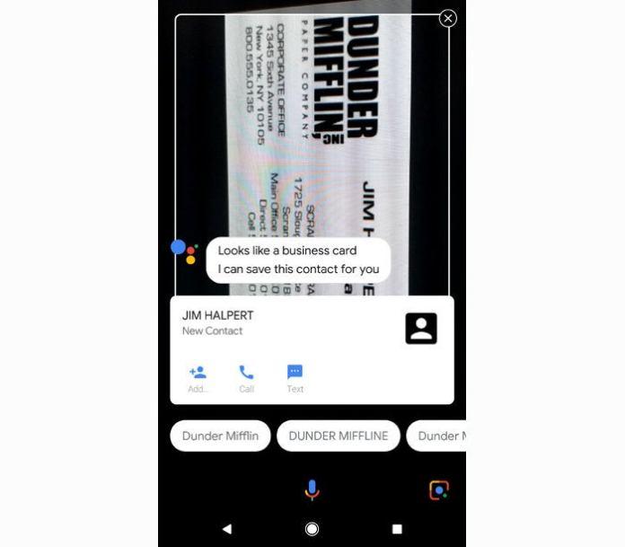 Google Assistant commands - Lens