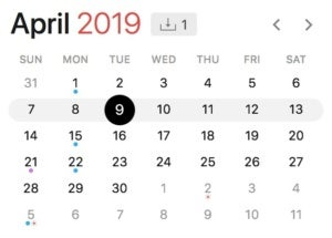 april 9 2019