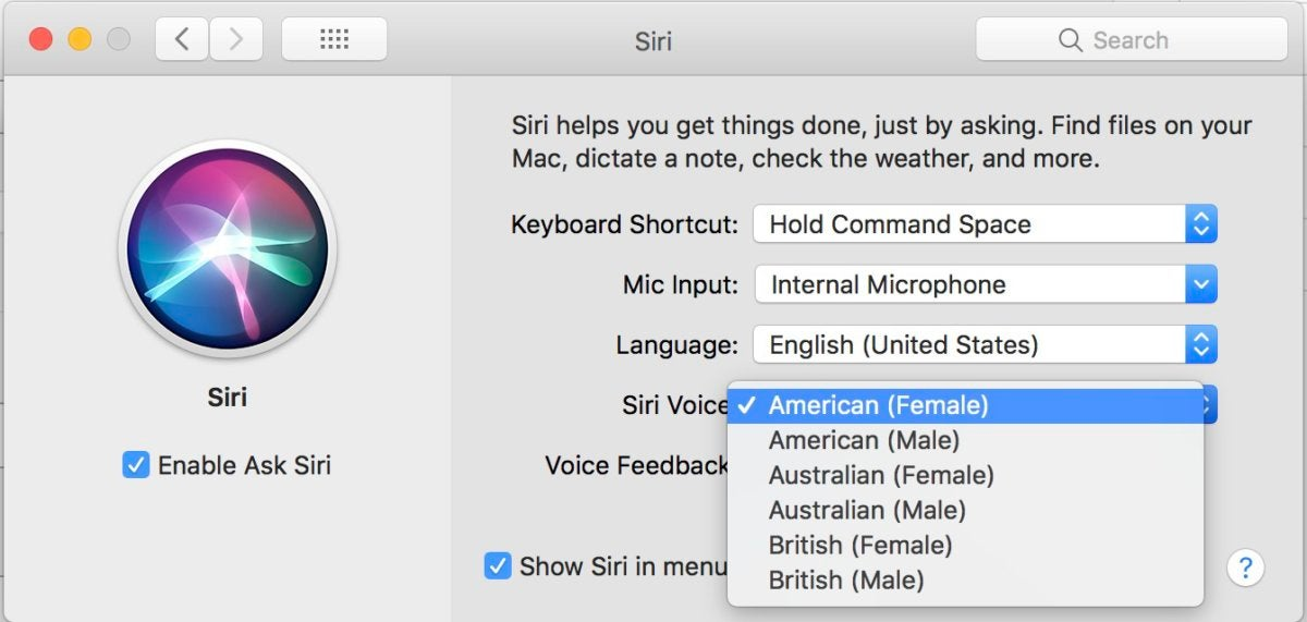 Siros to change MacOS