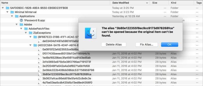 mac911 broken apfs time machine