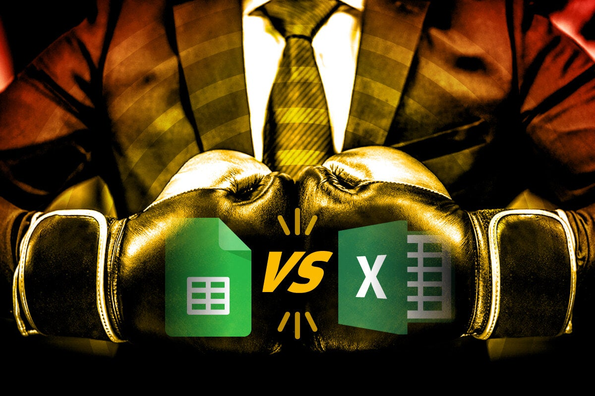 Microsoft Excel vs. Google Sheets: Which works better for business ...