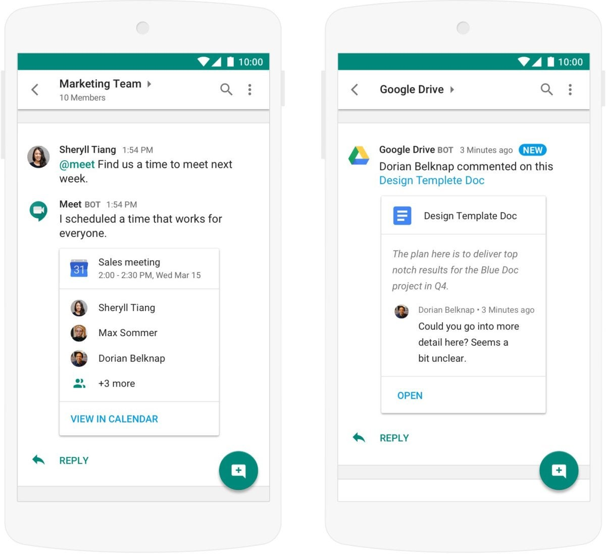 S Hangouts Chat Collaboration App Hits A Booming