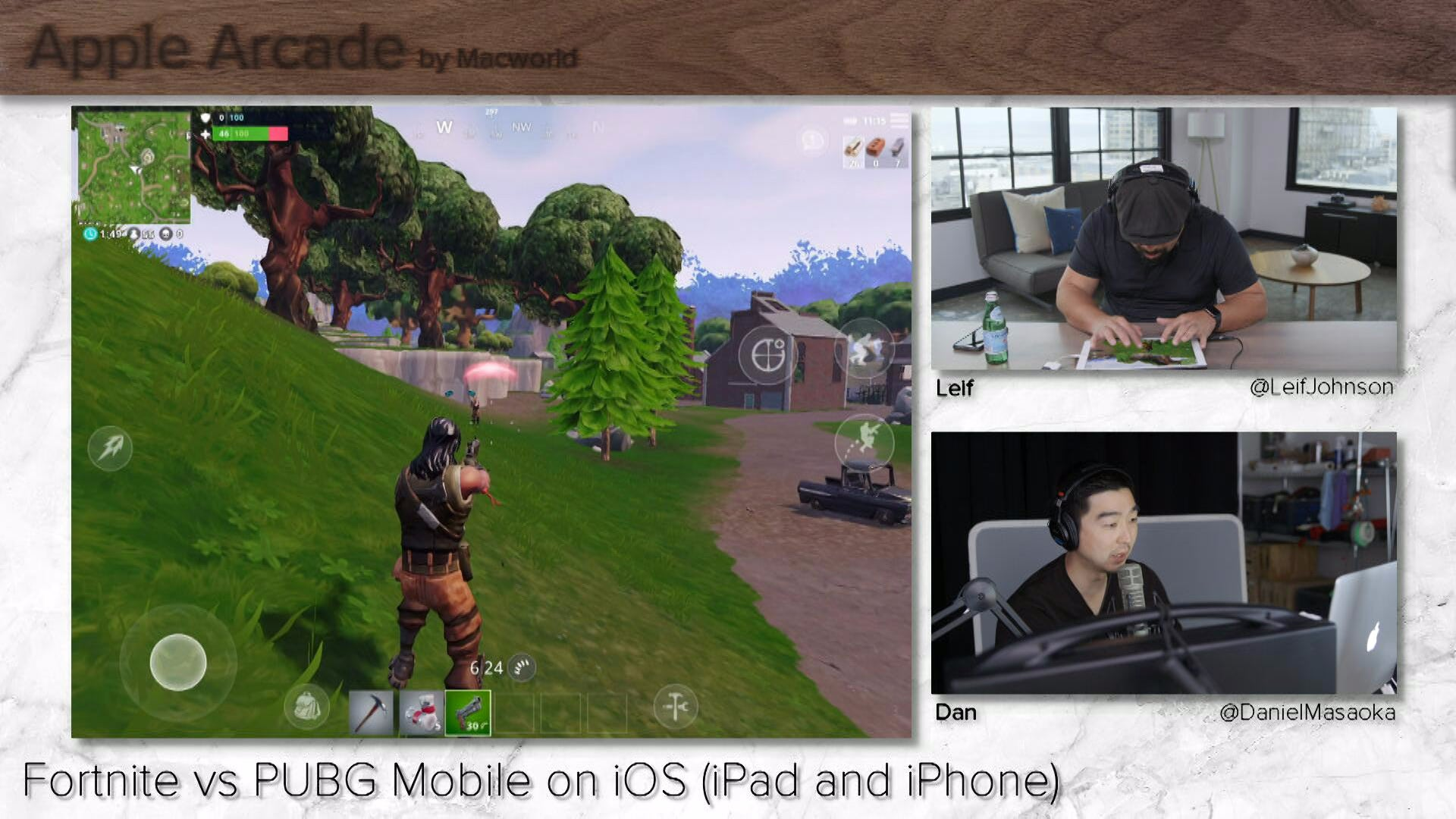 Fortnite Vs PUBG Mobile On IOS IPad And IPhone Apple Arcade Ep 3 IDGTV