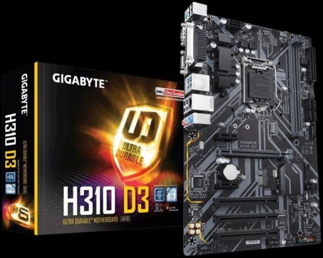 gigabyte h310 motherboard
