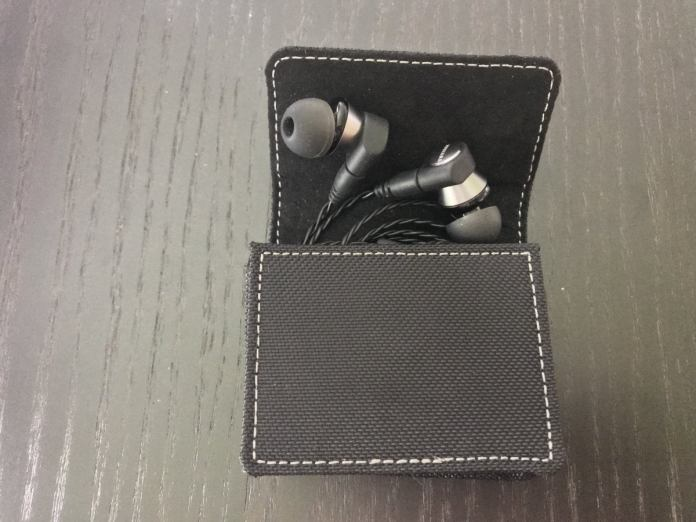 The included carrying case protects the headphones and is perfect for slipping into your pocket.