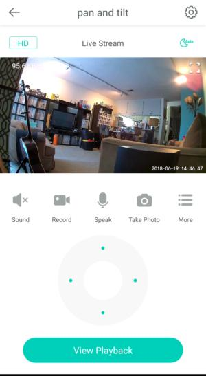 wyze cam pan home