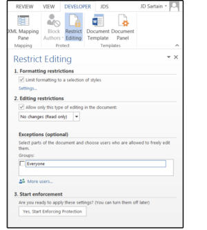 05 restrict editing on forms