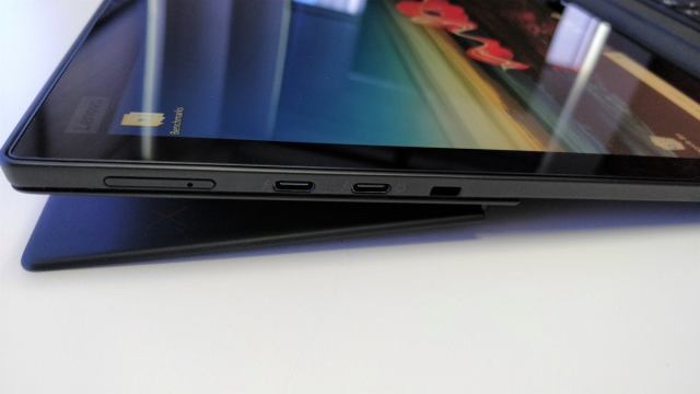 Lenovo ThinkPad X1 Tablet 2018  fully reclined 2