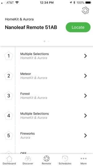 nanoleaf remote app 3 100764855 medium - Nanoleaf Remote review: The smartest d12 on the block