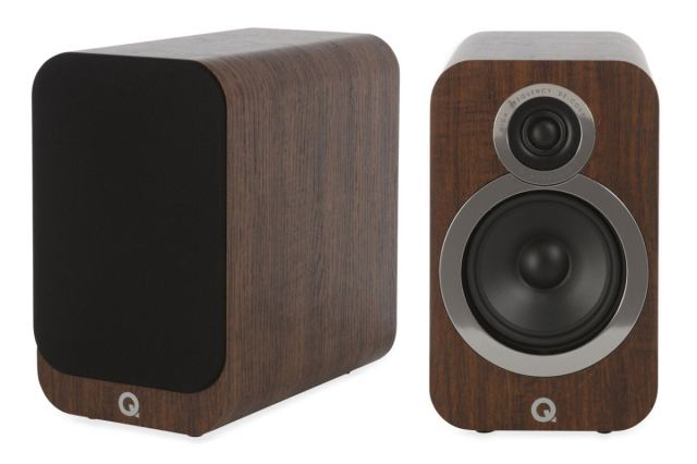 q acoustics 3020i walnut pair