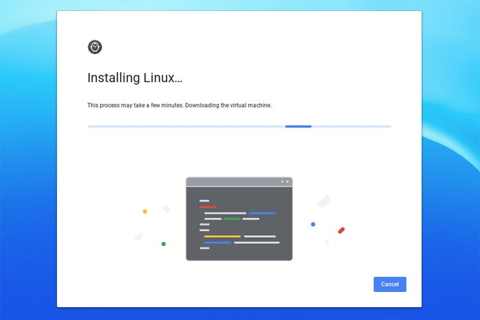 linux apps chrome os installing linux