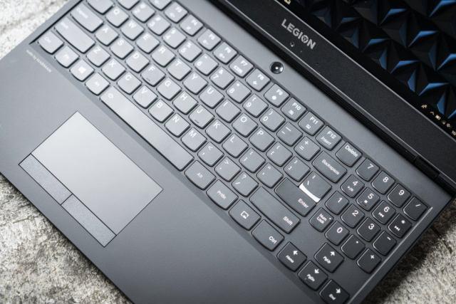 lenovo legion y530 keyboard detail