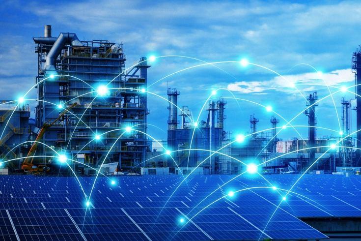 3 industrial iot solar power panels energy network internet